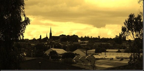 Wednesbury in sepia