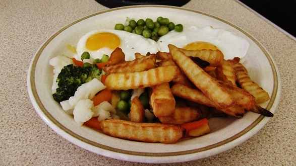 eggs and chips 005