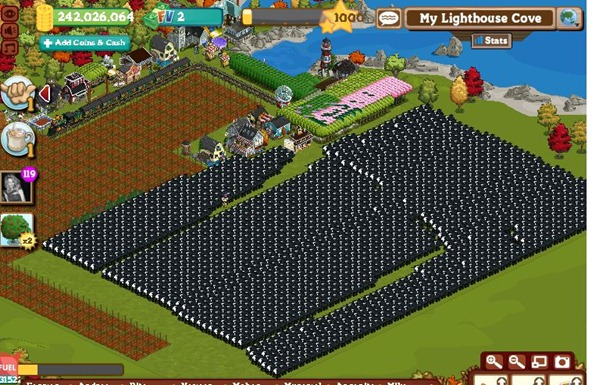 FARMVILLE LEVEL 1000
