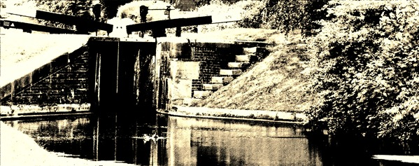 1 canal sepia