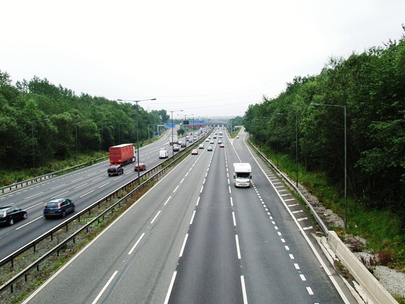 Junction 10 M6 Motorway