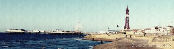 Blackpool panoramic textured