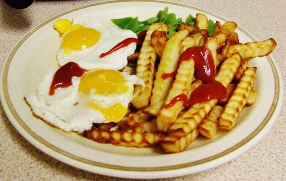 Eggs and Chips