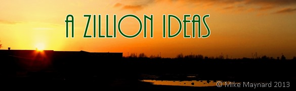 a zillion ideas sunset