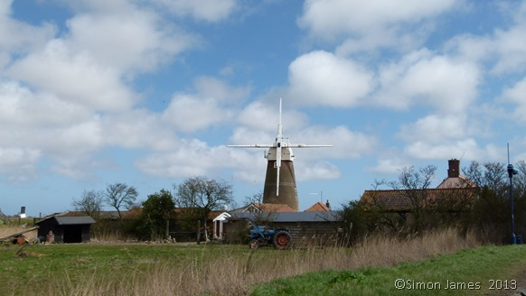 Norfolk Broads Friday 19 April 2013 windmill original