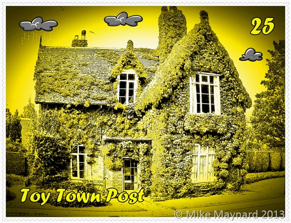 A TOY TOWN STAMP