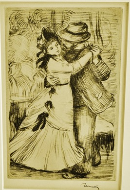 A drawing by Renoir