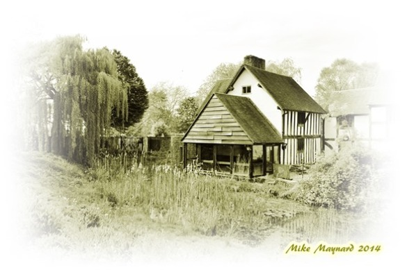 1 Manor House in sepia