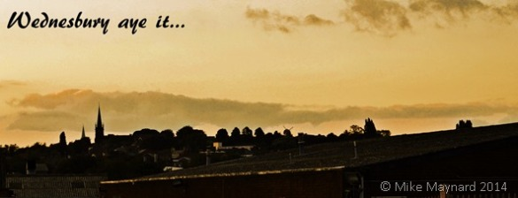 Wednesbury skyline