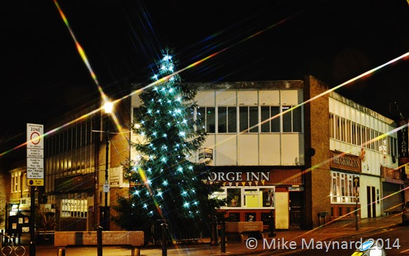 Christmas Tree in Wednesbury