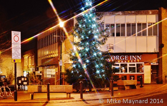 Wednesbury Christmas tree